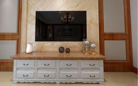 客厅电视柜新古典风格装修图片