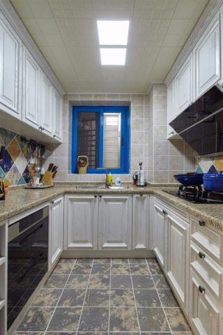 厨房吊顶混搭风格效果图