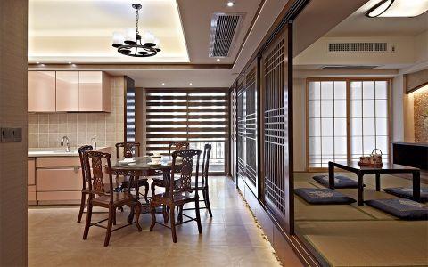 餐厅隔断中式风格装饰设计图片
