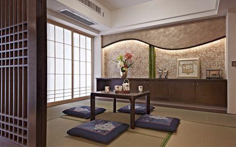 书房榻榻米中式风格装潢设计图片