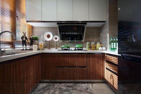 厨房窗帘现代风格装饰效果图