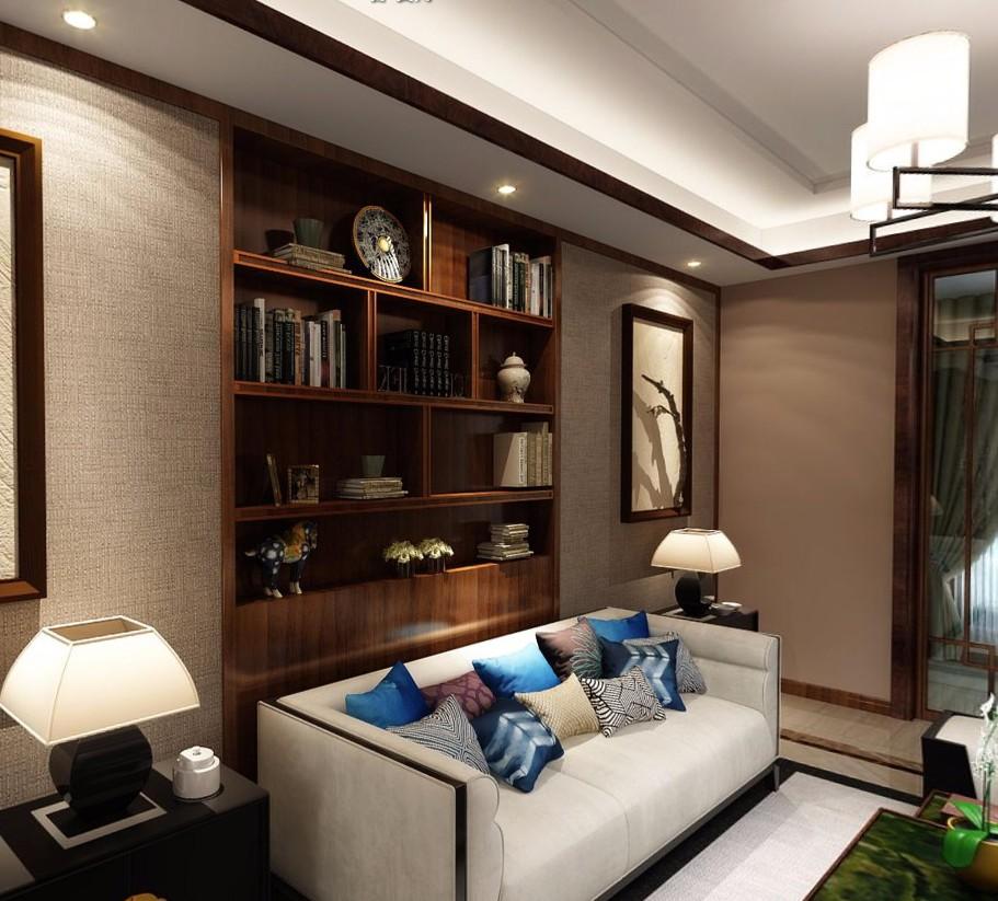 3室2卫2厅120平米中式风格