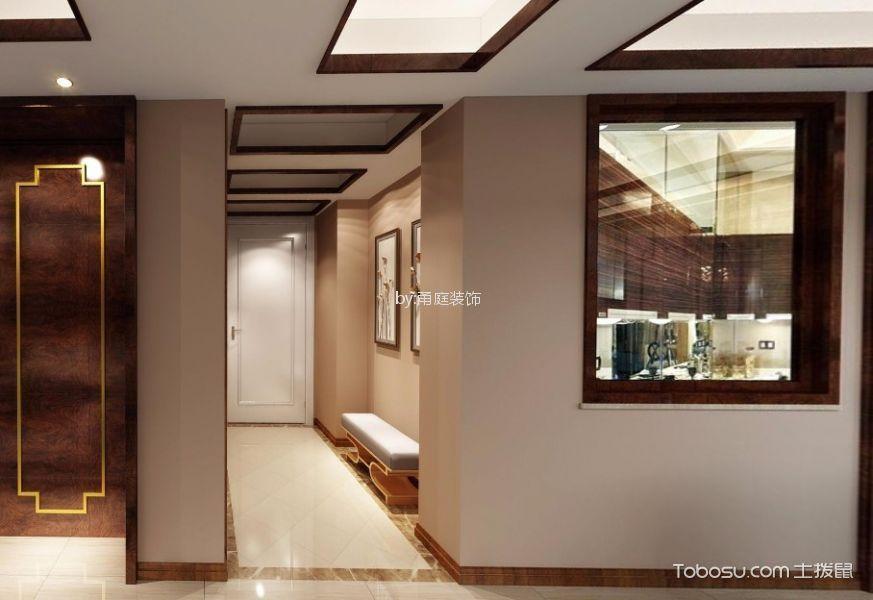 宁波龙湖名景台120平米中式风格效果图
