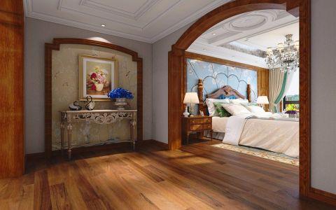 卧室门厅美式风格效果图