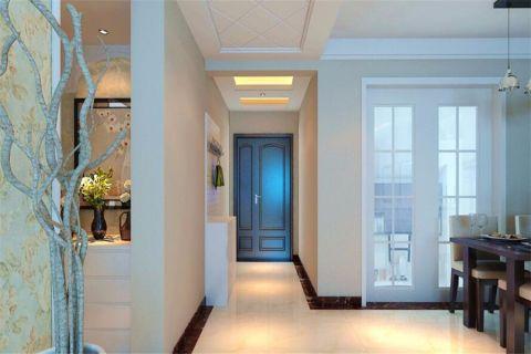 玄关白色走廊现代简约风格装修效果图
