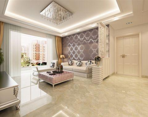 玄关白色走廊现代欧式风格装饰效果图