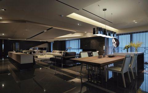 餐厅灰色走廊现代简约风格效果图