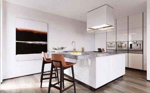 厨房白色吊顶简约风格装饰设计图片