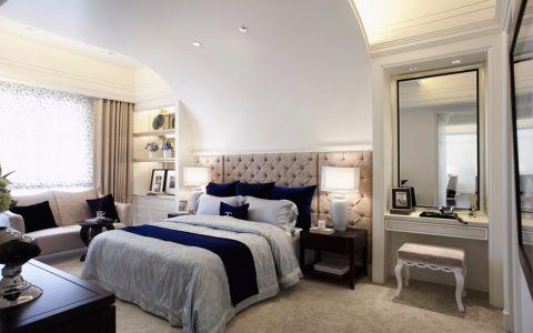 卧室白色梳妆台简约风格效果图