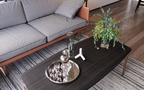 客厅黑色细节简约风格装修效果图