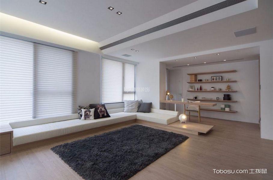 15万预算110平米两室两厅装修效果图