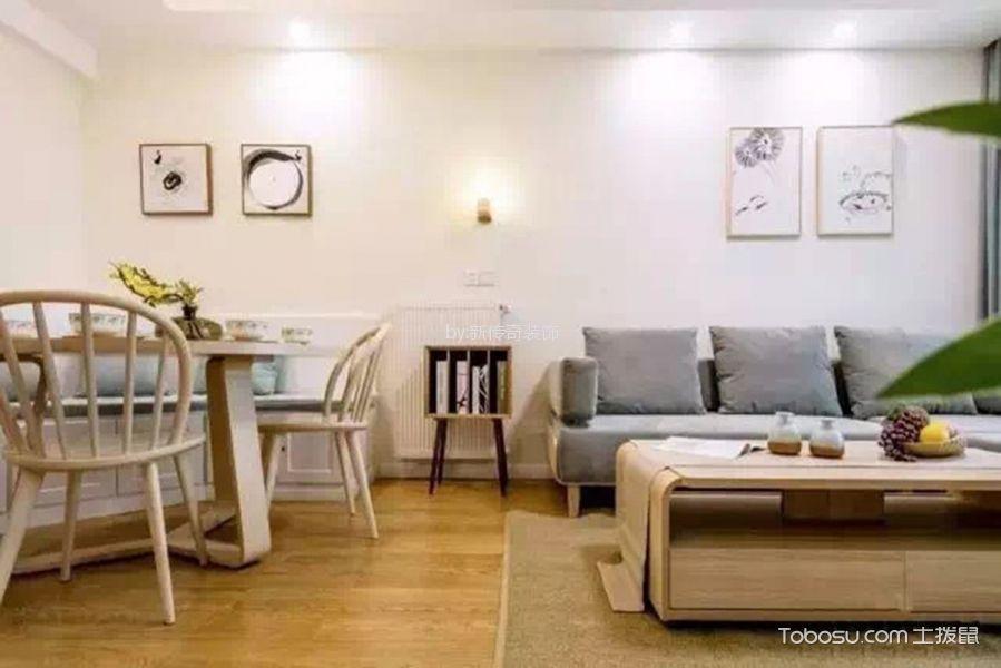 90平日式风格三居室家装效果图