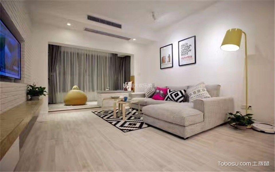 8万预算100平米公寓装修效果图