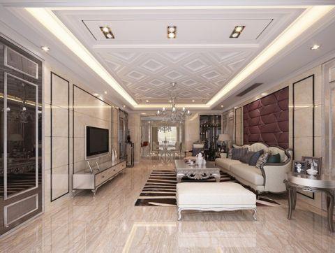 9万预算150平米四室两厅装修效果图