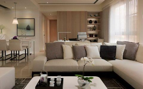 6.2万预算120平米三室两厅装修效果图
