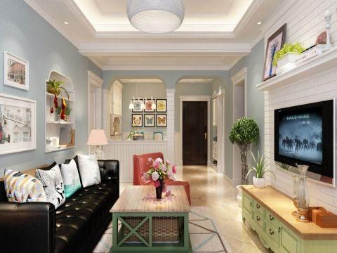 9万预算100平米三室两厅装修效果图