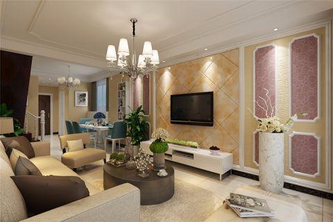 9万预算90平米三室两厅装修效果图