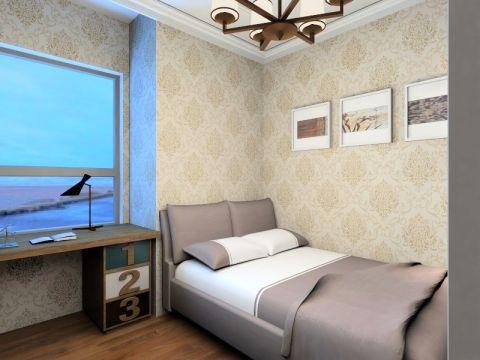 潮流卧室墙布图片