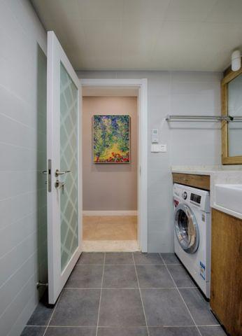 卫生间走廊现代简约风格装修效果图