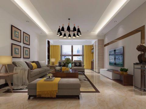 9.8万预算180平米四室两厅装修效果图