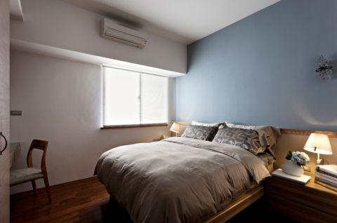 卧室窗台现代简约风格效果图