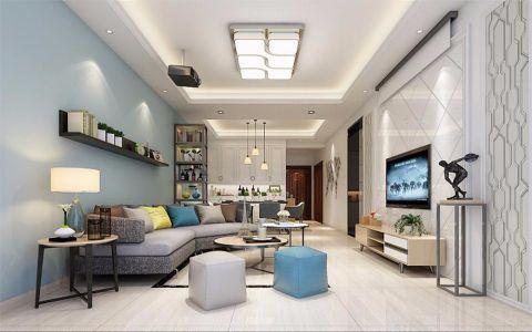 15万预算116平米四室两厅装修效果图