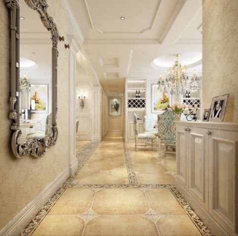 玄关走廊欧式风格装潢图片