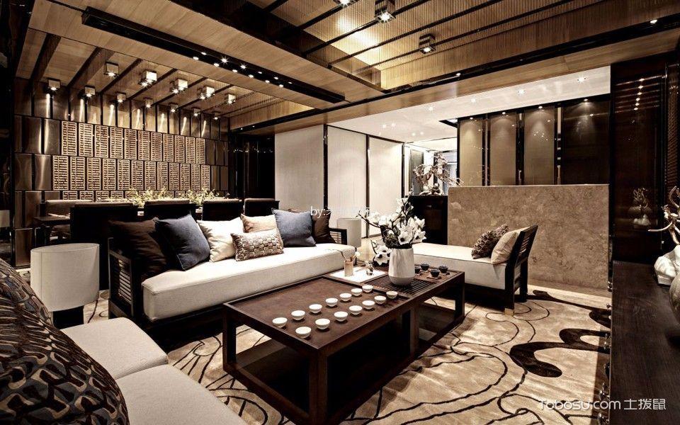 7.3万预算120平米四室两厅装修效果图