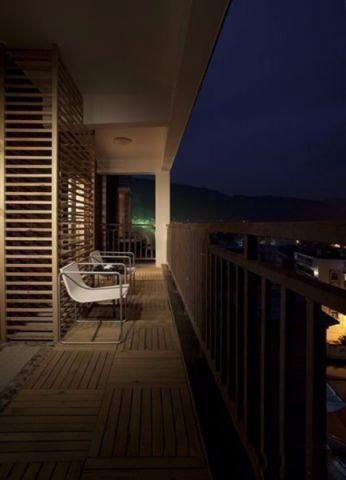 阳台现代简约风格效果图
