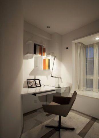 书房飘窗现代简约风格装修效果图