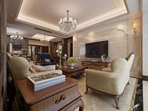 10万预算140平米四室两厅装修效果图