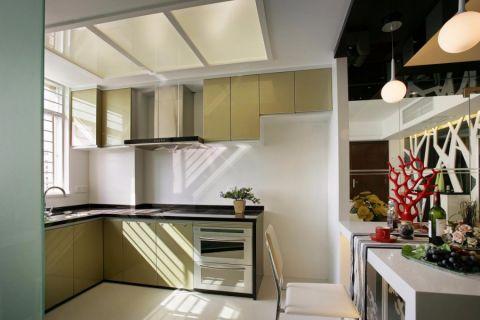 厨房现代简约风格装潢图片