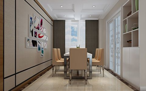 3.5万预算120平米三室两厅装修效果图