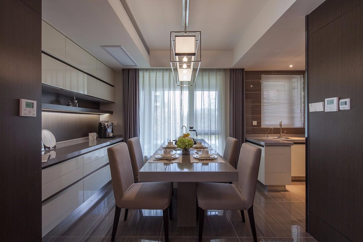 3室1卫2厅123平米现代简约风格
