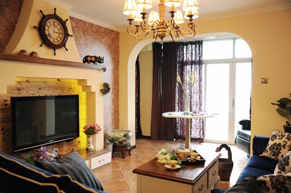 3室1卫2厅地中海风格