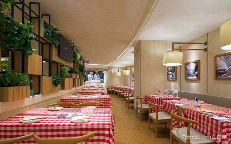 日式餐厅绿化装修图片