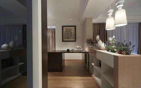 90平现代简约风格二居室装修效果图
