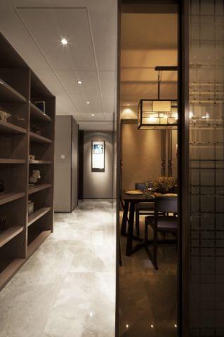 玄关走廊新中式风格装潢图片