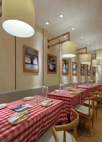 日式餐厅装修效果图