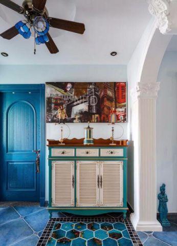 玄关门厅地中海风格装饰效果图