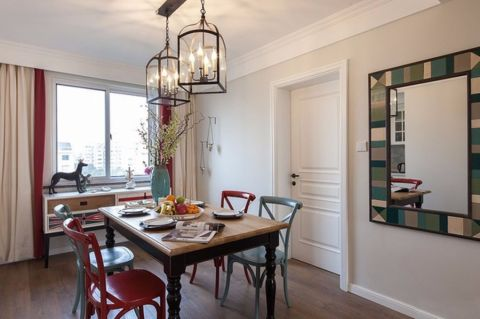 16.5万预算160平米四室两厅装修效果图