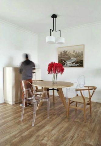 50平米北欧风格一居室效果图