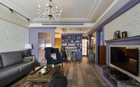 13万预算115平米三室两厅装修效果图