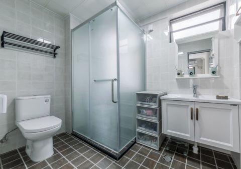 卫生间隔断北欧风格装潢设计图片