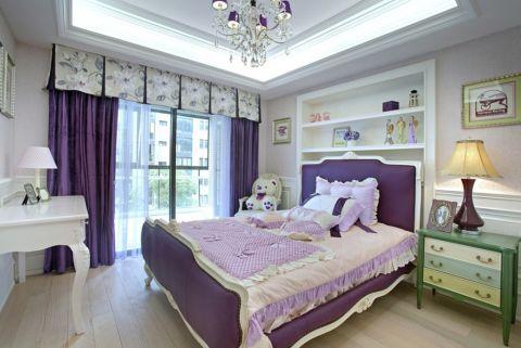 儿童房窗帘法式风格装饰效果图
