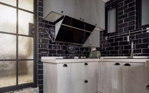 厨房推拉门混搭风格装饰设计图片