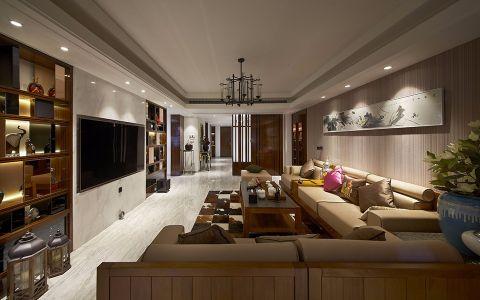 星河国际新中式风格四居室效果图