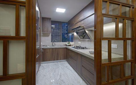 厨房推拉门新中式风格装饰图片