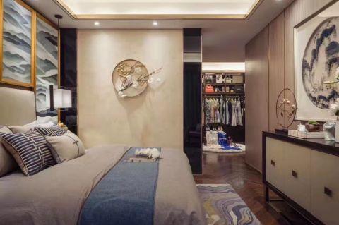 卧室走廊中式风格装修图片