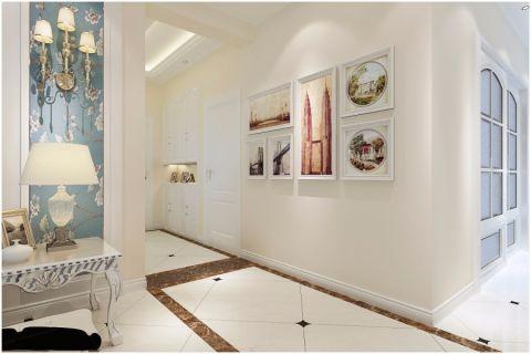 玄关照片墙欧式风格装饰效果图